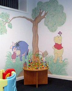 Estimate for winnie the pooh nursery mural please read for Classic pooh nursery mural