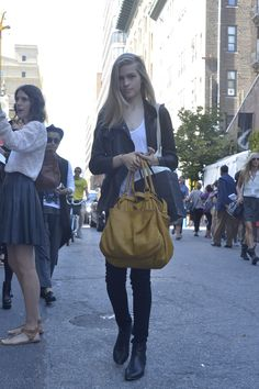 Street Style Mercedes-Benz Fashion Week Nueva York primavera verano 2013