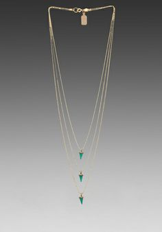 LIONETTE BY NOA SADE Avish Necklace in Turquoise at Revolve Clothing - Free Shipping!