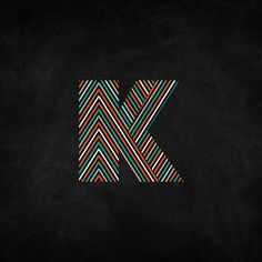 Just Letter K by Kutan URAL, via Behance