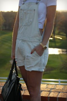 Oh So Glam   Overall Shorts