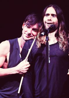 They aren't just brothers they are the loves of each other's lives ❤️ Jared and Shannon Leto
