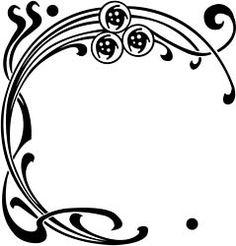 Vintage Winnie: Some Art Nouveau inspirational examples! Motifs Art Nouveau, Design Art Nouveau, Motif Art Deco, Art Nouveau Pattern, Art Nouveau Tattoo, Tattoo Art, Wrist Tattoo, Art Inspo, Jugendstil Design
