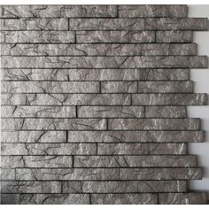 Wall coverings for wood paneling in den. Retro Art Ledge Stone 24 in. x 24 in. Sparkled Grey PVC Wall - The Home Depot Pvc Wall Panels, Decorative Wall Panels, Wood Panel Walls, Wood Paneling, 3d Wallpaper Panels, Embossed Wallpaper, Stick On Wood Wall, Peel And Stick Wood, Cement Color