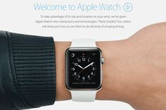 Apple shows what its watch can do in new video tutorials