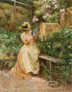 Love's Messenger - Robert Payton Reid (scottish painter)