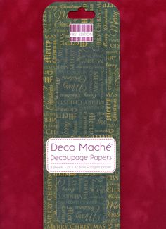 Christmas DECOUPAGE PAPER, Merry Christmas Decoupage Paper, Christmas Decoupage Paper, Decoupage Papers, Deco Mache, Distressed Decoupage by OneDayLongAgo on Etsy