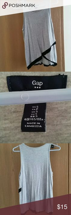 Sale! Gap dressy top Only worn once. Very comfortable and soft. Offers welcome. GAP Tops
