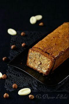 Un dejeuner de soleil: Cake au chocolat blanc et aux noisettes