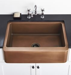 Apron Front Copper Sink | Rejuvenation