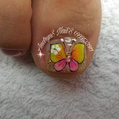 Manicure And Pedicure, Toe Nails, Nail Designs, Neon, Bright, Turquoise, Gemstones, Enamels, Short Nail Manicure