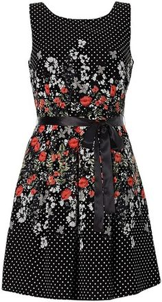 Designer Clothes, Shoes & Bags for Women Floral Tea Dress, Ideias Fashion, Floral Prints, Cute Outfits, Summer Dresses, Stylish, Casual, Clothes, Women