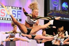 Why can't mine look like that? #cheerproblems