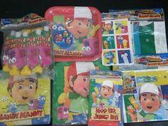 Handy Manny Birthday Party Supplies Kit | eBay