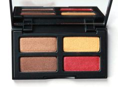 Red Eyeshadow-Kat Von D True Romance Starstruck Palette  Great colours for my skintone x