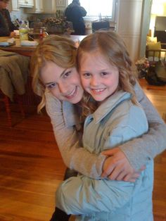 Emily Van Camp and Emily Alyn Lind - Revenge LOVE THEM! So precious