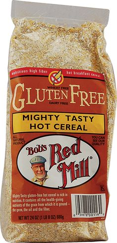 Bob's Red Mill Mighty Tasty Gluten Free Hot Cereal $2.99