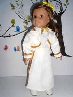 Mariachi charra suit traje pearl ivory or black gabardine with gold trim for American Girl doll 18 in handmade Ready To Play, Line Jackets, American Girl, Dress Up, Ivory, Pearls, Suits, Cotton, Etsy