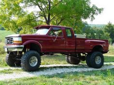 Lifted Ford