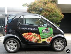 Awesome Smart 2017 - Ad Campaign, Food Product Advertising, Perfect Italiano, Smart Car Wrap... Check more at http://24car.ml/my-desires/smart-2017-ad-campaign-food-product-advertising-perfect-italiano-smart-car-wrap-2/
