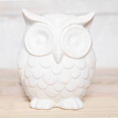 medium ceramic owl decoration by red berry apple | notonthehighstreet.com