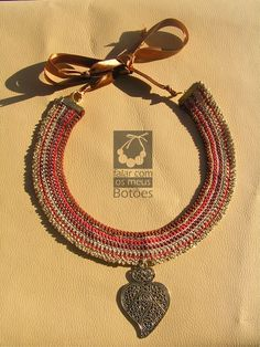 """crochet with """"heart of Viana"""""""
