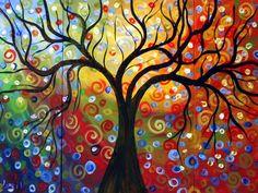 Wood color under the rain #tree#twirl#dekoranive