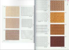 Crochetpedia: Horgolt minták könyv 300 - Áttört Horgolt Ingyenes minták