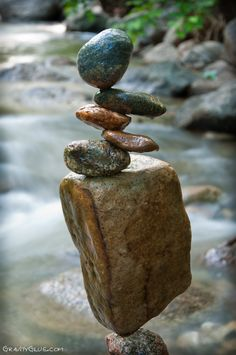 The Minding Art Of Rock Balancing By Michael Grab