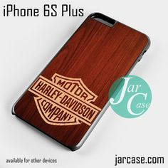 harley davidson wood Phone case for iPhone 6S Plus and other iPhone devices