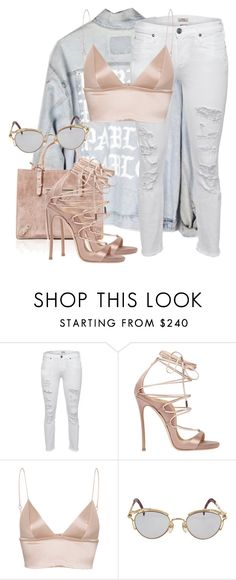 """Untitled #3783"" by xirix ❤ liked on Polyvore featuring True Religion, Dsquared2, T By Alexander Wang and Jean-Paul Gaultier"