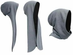 hooded scarf makin you look like the Grim Reaper Mehr Diy Clothing, Sewing Clothes, Clothing Patterns, Sewing Hacks, Sewing Tutorials, Sewing Crafts, Diy Crafts, Knitting Patterns, Sewing Patterns