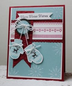 IC362, Mittens by Holstein - Cards and Paper Crafts at Splitcoaststampers