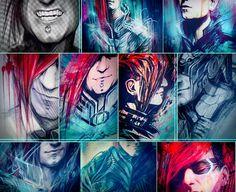 The amazing art of Ninja Jo (for Fixt Studios/Celldweller etc.)