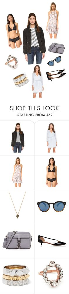 """""""Catch Me..**"""" by yagna ❤ liked on Polyvore featuring Add Down, Sanctuary, Rebecca Taylor, Marysia Swim, CAM, Illesteva, Rebecca Minkoff, Francesco Russo, Noir Jewelry and MAHA LOZI"""