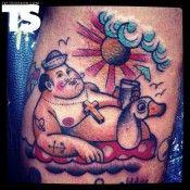 Chubby sailor by Francesco Garbuggino @Wesley