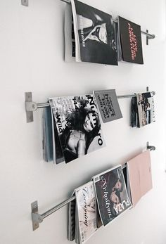 Magazines (picture by Stil Inspiration)