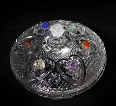 Offering Bowl Altar Ritual Incense Chakra Reiki Crystal