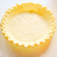 Gluten Free Pie Crust with a Dairy Free Option