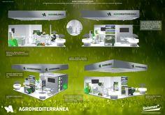 Stand Agromediterránea diseñado y realizado por @Sistemas TM