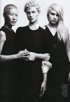 Love Magazine  the logic of taste    Love Magazine   Model:Jenny Shimizu, Kasia Struss and Katie Grand.  Designers: Ralph Lauren, Calvin Klein, Chanel  Source: thelovemagazine.co.uk   Published: spring/summer 2011