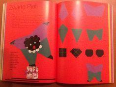 Knutsel: Zwarte Piet vouwen