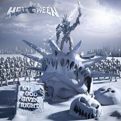 Caratula Frontal de Helloween - My God-Given Right