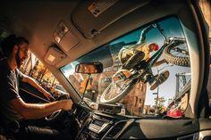 Di Lullo ha resultado ganador en la clase Nueva Creatividad con el rider Aaron Chase pasando por encima de la luna de un coche en las calles de Brooklyn, NY, Estados Unidos.