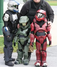 halo costumes for kids - Halo Reach Halloween Costume