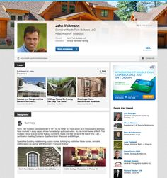Are you on Linkedin? Would you like to connect with me there too? Just send me a message and thank you for connecting on another social media too! ~ John  https://www.linkedin.com/in/northtwinbuilders