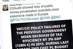 """PiS """"donosi"""" CNN, BBC i internautom na całym świecie, że Polska jest zrujnowana..."""