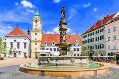 1 Day in Bratislava: The Perfect Bratislava Itinerary Day Trips From Vienna, Castle Gate, Bratislava Slovakia, Puzzle Of The Day, Travel Through Europe, Main Attraction, Eastern Europe, Capital City, Old Town