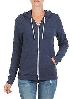American Apparel Sweatshirts UNISEX TRI BLEND HOODIE Blau