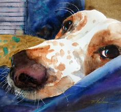 Artist: V. Nelson. This looks so much like my Nellie!